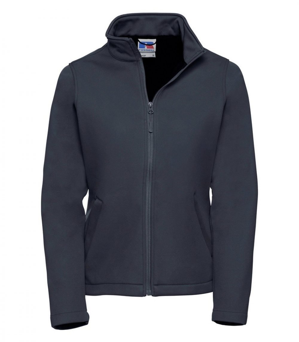 PPG Workwear Russell Ladies Smart Softshell Jacket R040F French Navy Colour