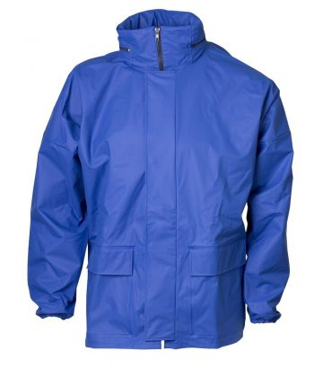 PPG Workwear Elka Cleaning Jacket with Hood 076300 Cobalt Colour