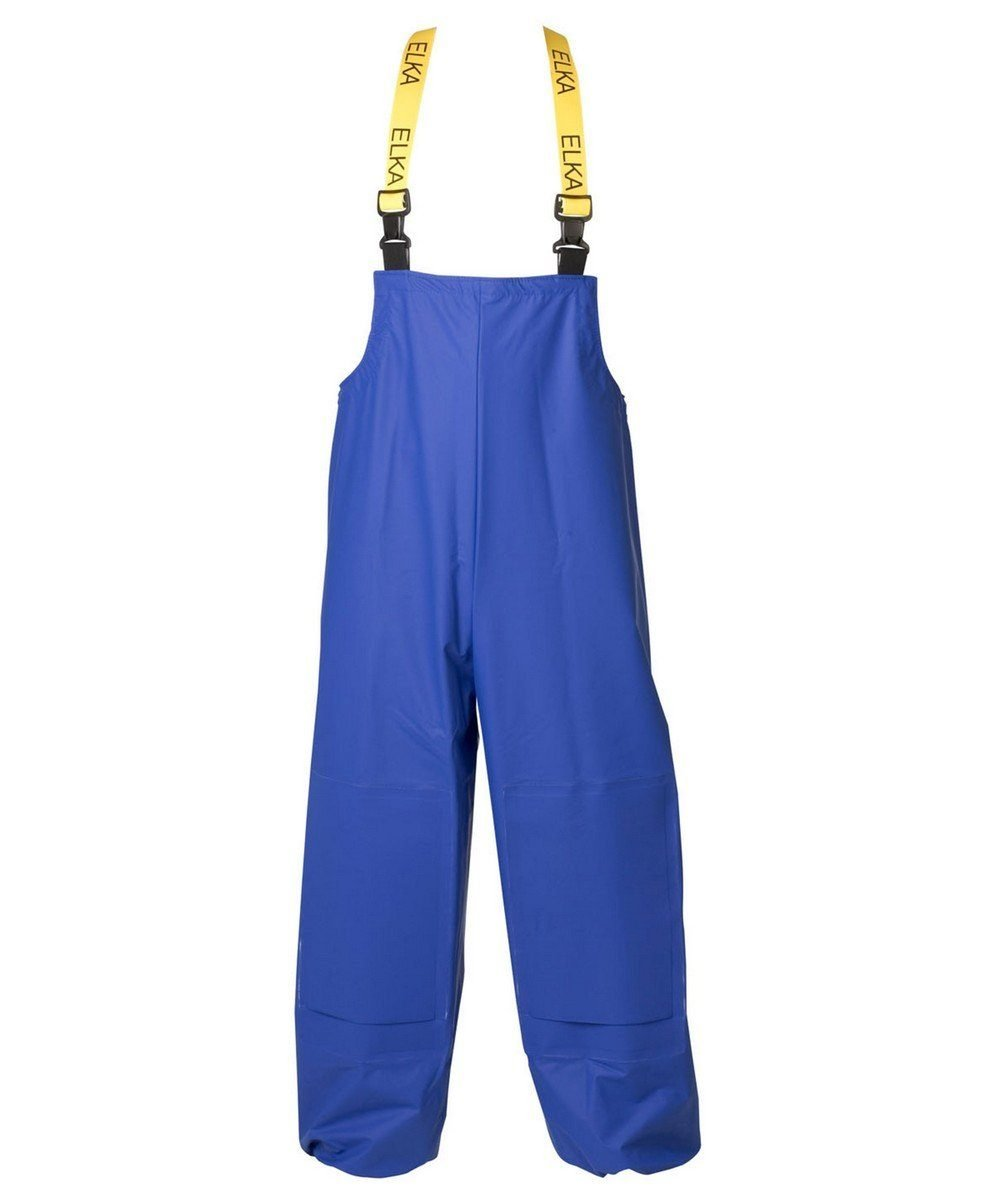 Elka Cleaning Bib/Brace with Knee Pad Pockets 079904 Cobalt Colour