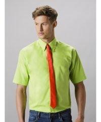 Kustom Kit Mens Workforce Short Sleeve Shirt KK100 Lime Colour