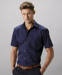 PPG Workwear Kustom Kit Mens Business Shirt Short Sleeve KK102 Dark Navy Colour