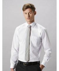 Kustom Kit Mens Business Shirt Long Sleeve KK104 White Colour Long Sleeve