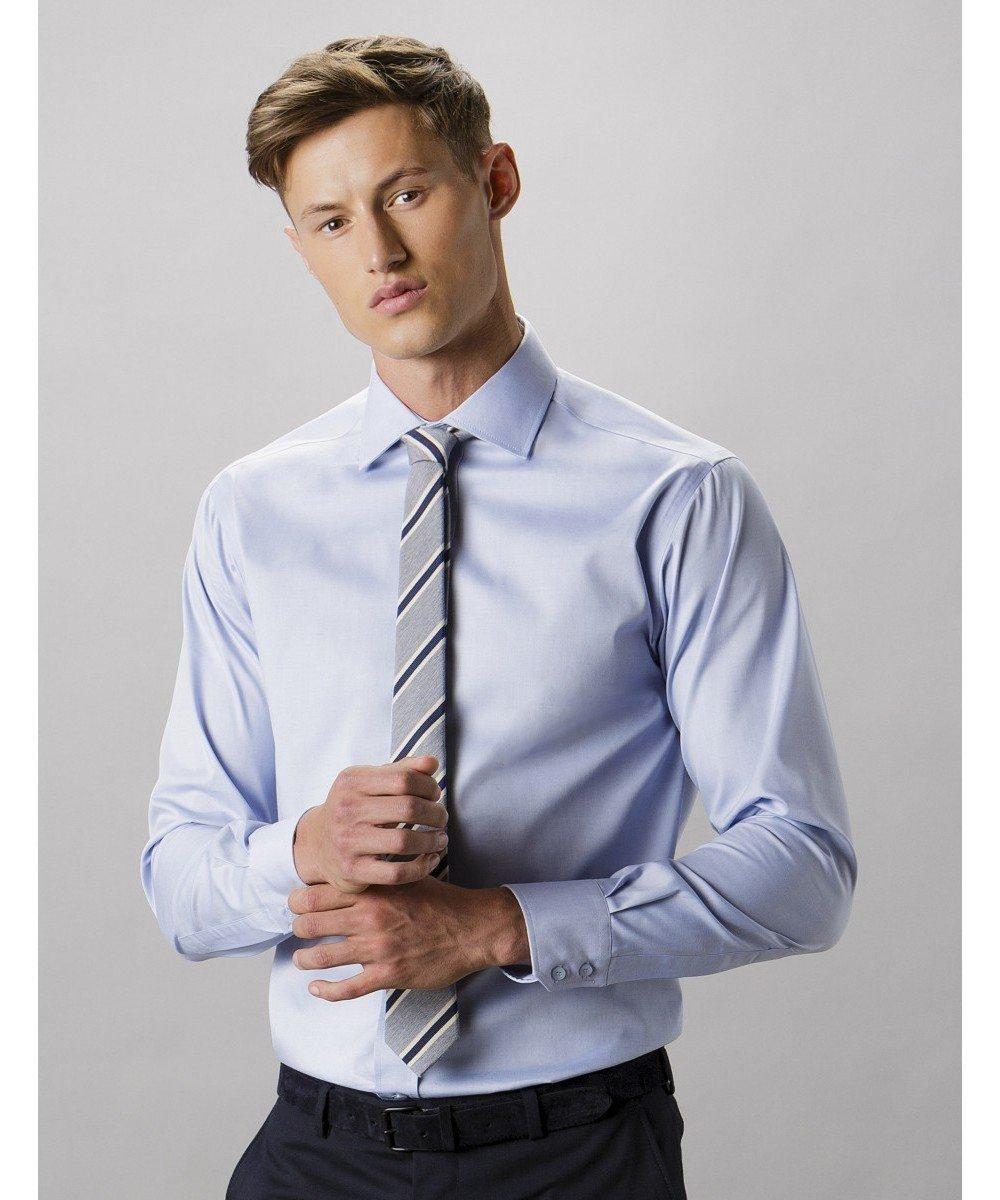 Kustom Kit Superior Oxford shirt long sleeve