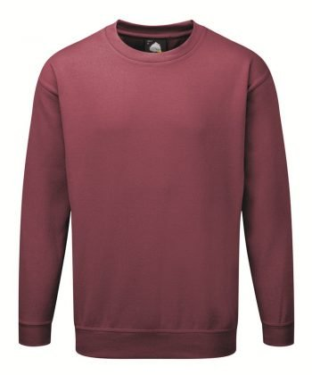 PPG Workwear Orn Kite Premium Sweatshirt 1250 Burgundy Colour