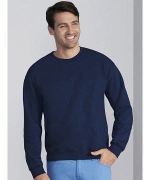PPG Workwear Gildan DryBlend Adult Crew Neck Sweatshirt 12000 Navy Blue Colour