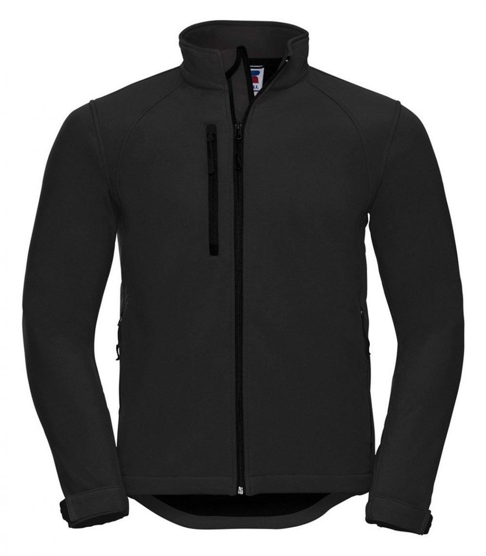 Russell Mens Softshell Jacket 140M Black Colour