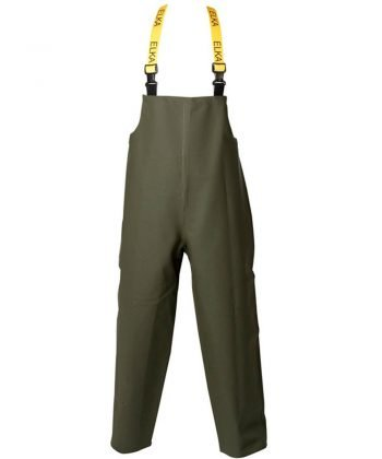 PPG Workwear Elka Forestry Bib/Brace 177301 Olive Green Colour