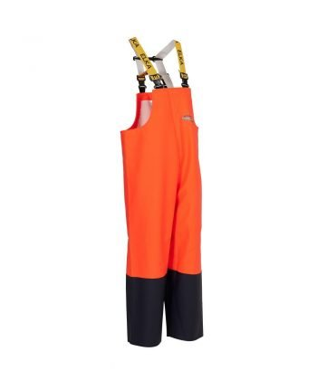Elka Fishing Xtreme Two Tone Bib/Brace 177302 Orange and Navy Blue Colour
