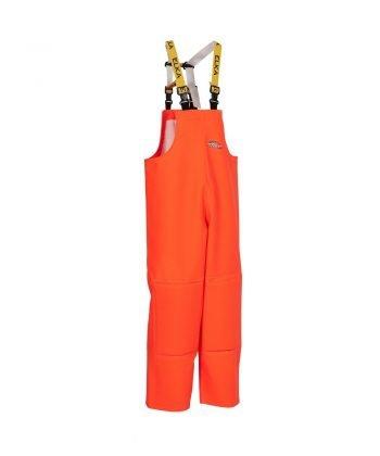 Elka Fishing Xtreme Bib/Brace with Knee Pads 177303 Orange Colour