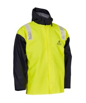 PPG Workwear Elka Unlimited Jacket 179804 Yellow and Navy Blue Colour