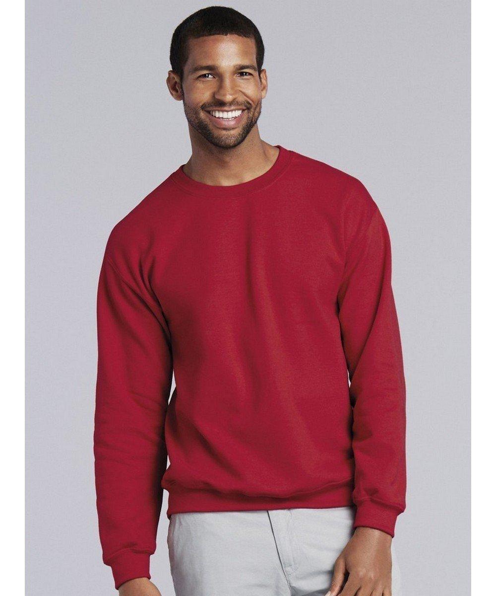 PPG Workwear Gildan Heavy Blend Adult Crew Neck Sweatshirt 18000 Red Colour