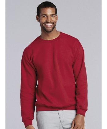 PPG Workwear Gildan Heavy Blend Adult Crew Neck Sweatshirt 18000 Red Colour