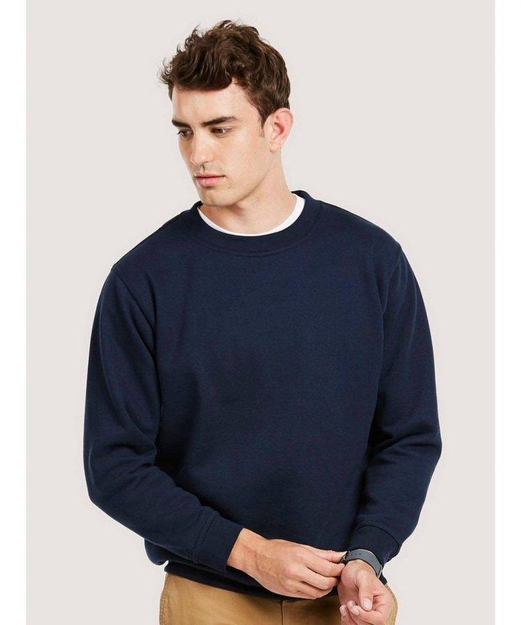 PPG Workwear Uneek Premium Sweatshirt UC201 Navy Blue Colour
