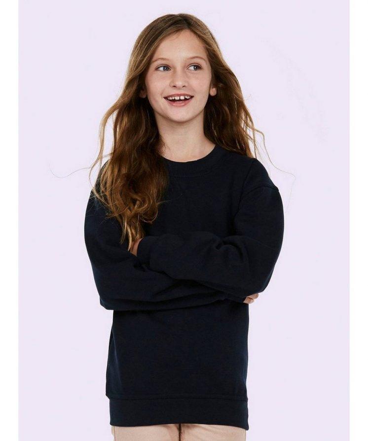 PPG Workwear Uneek Childrens Sweatshirt UC202 Black Colour