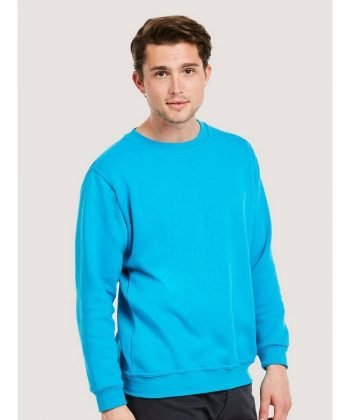 PPG Workwear Uneek Classic Sweatshirt UC203 Sky Blue Colour