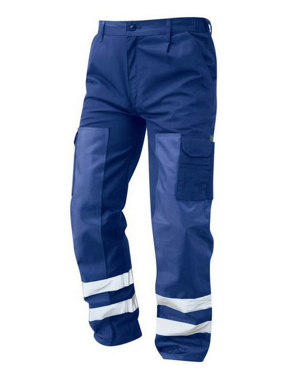 PPG Workwear Orn Vulture Ballistic Trouser 2900 Royal Blue Colour with Reflective Bands
