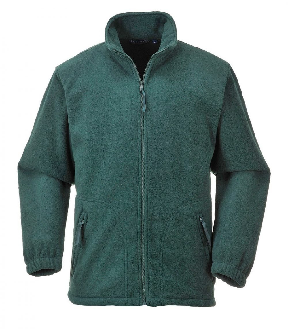 PPG Workwear Portwest Argyll Heavy Fleece F400 Bottle Green Colour