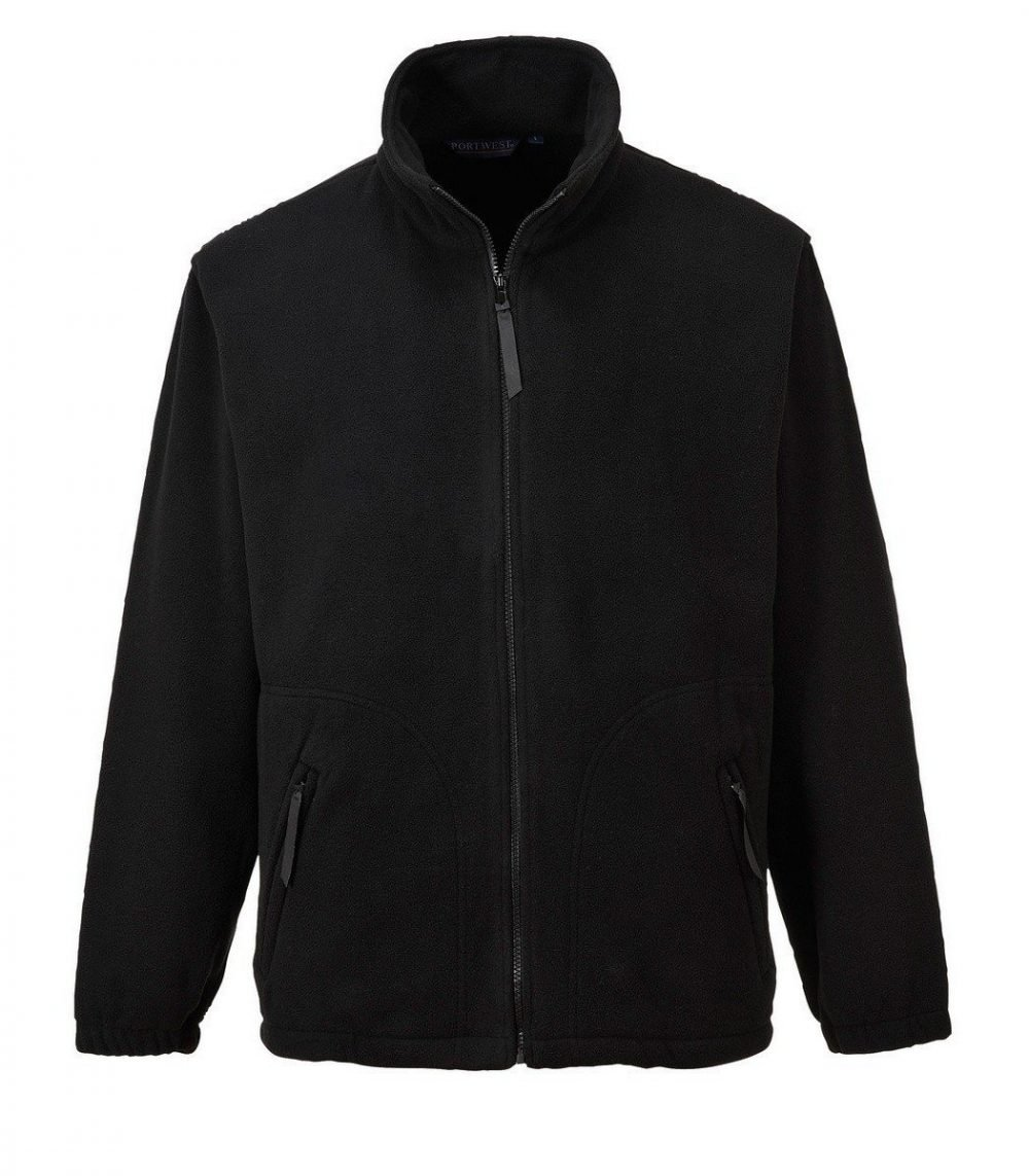 PPG Workwear Portwest Argyll Heavy Fleece F400 Black Colour