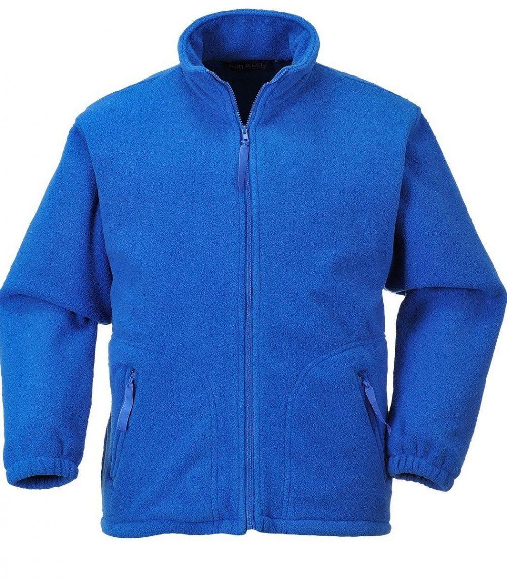 PPG Workwear Portwest Argyll Heavy Fleece F400 Royal Blue Colour