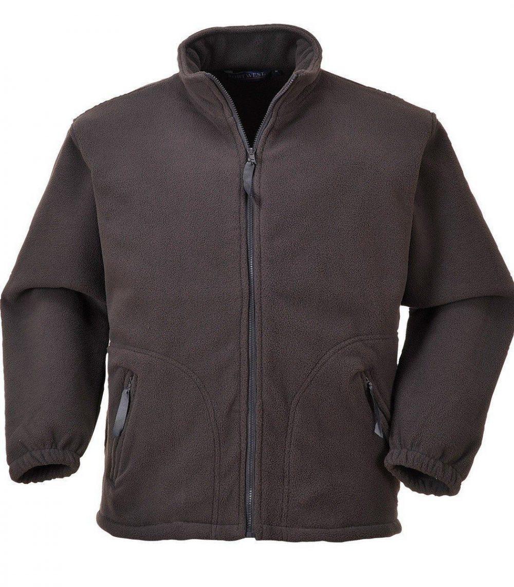 PPG Workwear Portwest Argyll Heavy Fleece F400 Slate Grey Colour