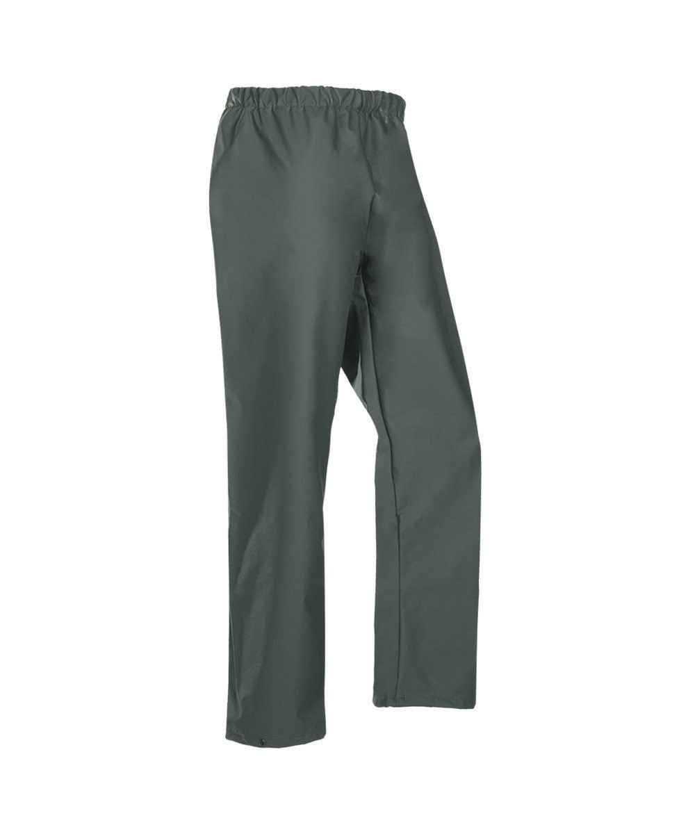 PPG Workwear Flexothane Classic Waterproof Trousers 4500 Olive Green Colour