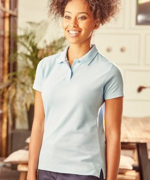 PPG Workwear Russell Ladies Classic Polo Shirt 539F Sky Blue Colour
