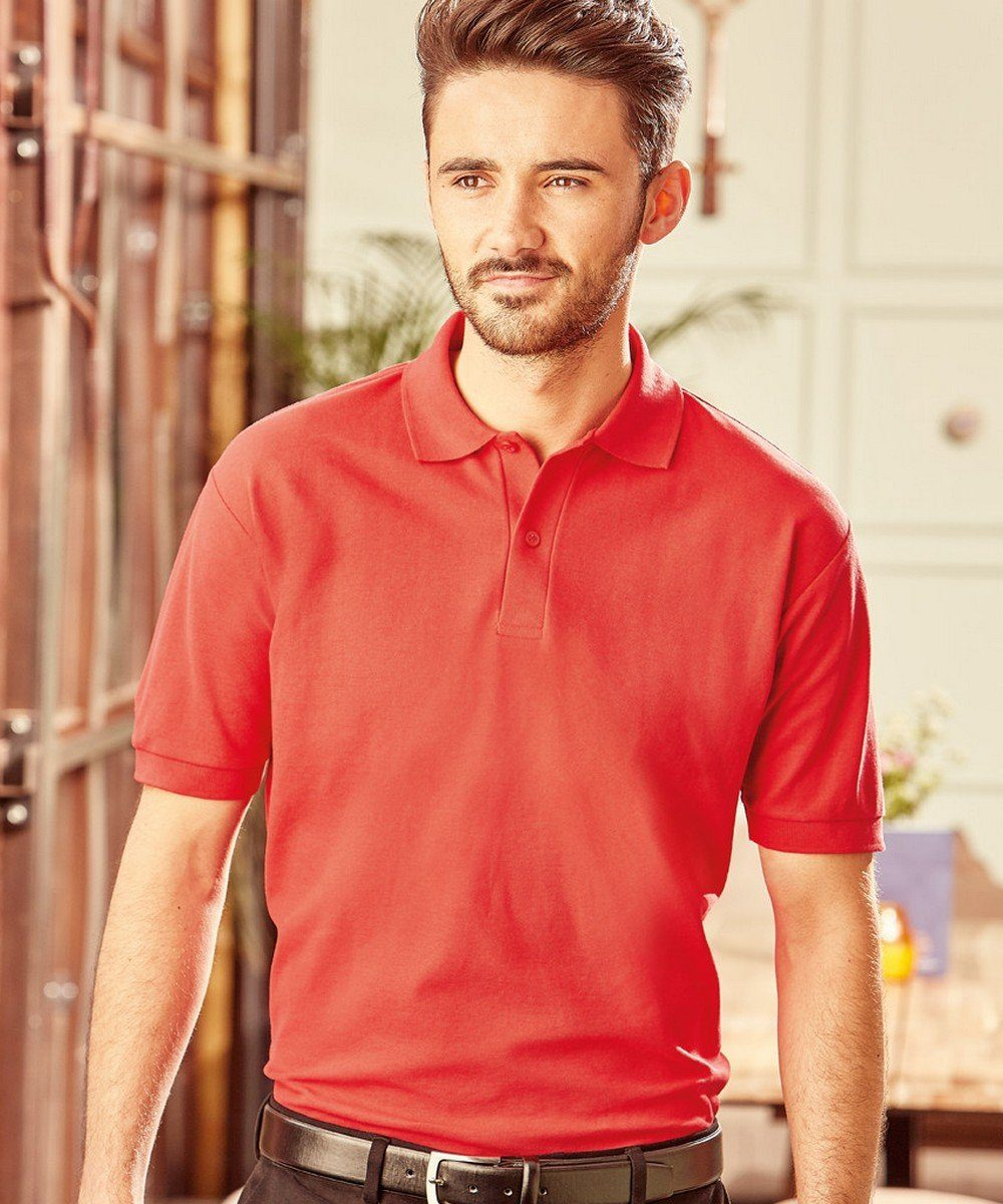 PPG Workwear Russell Mens Classic Polo Shirt 539M Classic Red Colour