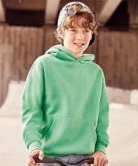 PPG Workwear Jerzees Schoolgear Childrens Hooded Sweatshirt 575B Apple Colour