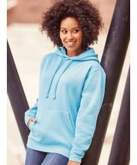PPG Workwear Russell Hooded Sweatshirt 575M Sky Blue Colour