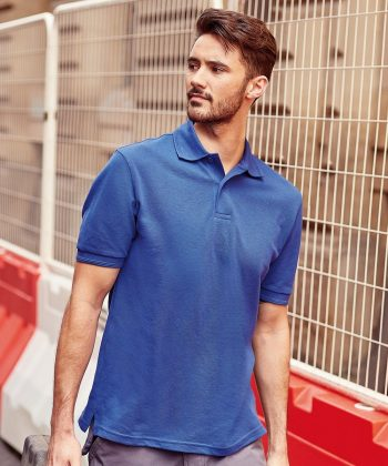 PPG Workwear Russell Hardwearing Polo Shirt 599M Bright Royal Blue Colour