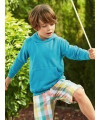 PPG Workwear Fruit Of The Loom Kids Classic Hooded Sweatshirt 62043 Azure Colour