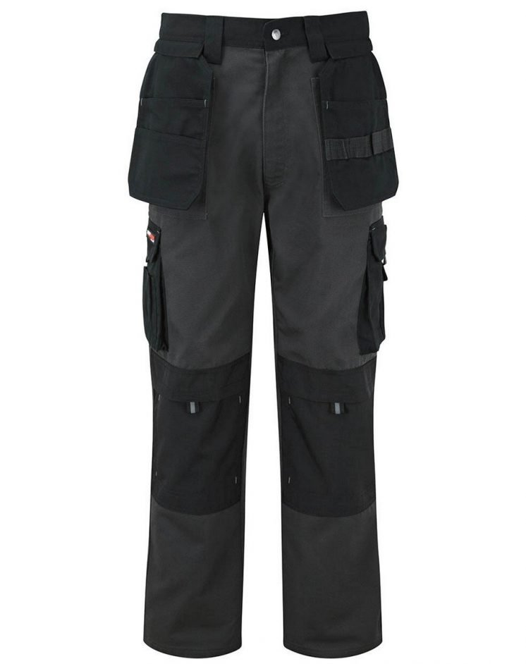 PPG Workwear TuffStuff Extreme Work Trousers 700 Grey and Black Colour