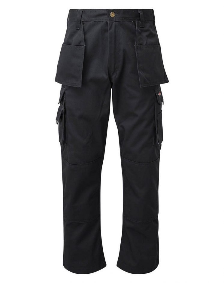 PPG Workwear TuffStuff Pro Work Trousers 711 Black Colour