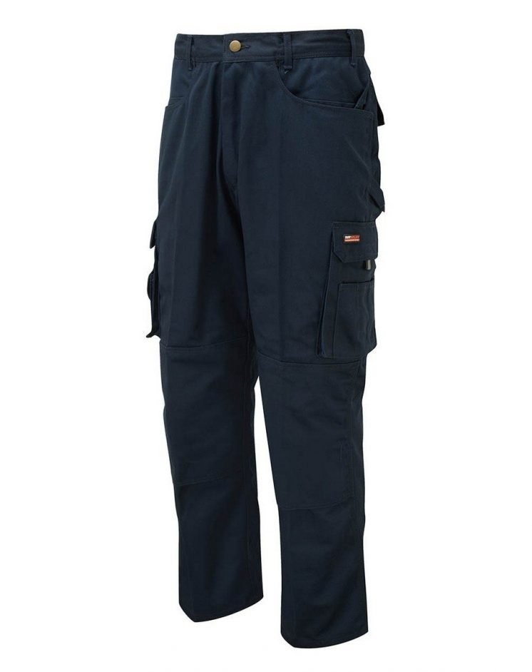 TuffStuff Pro Work Trousers 711 Navy Blue Colour