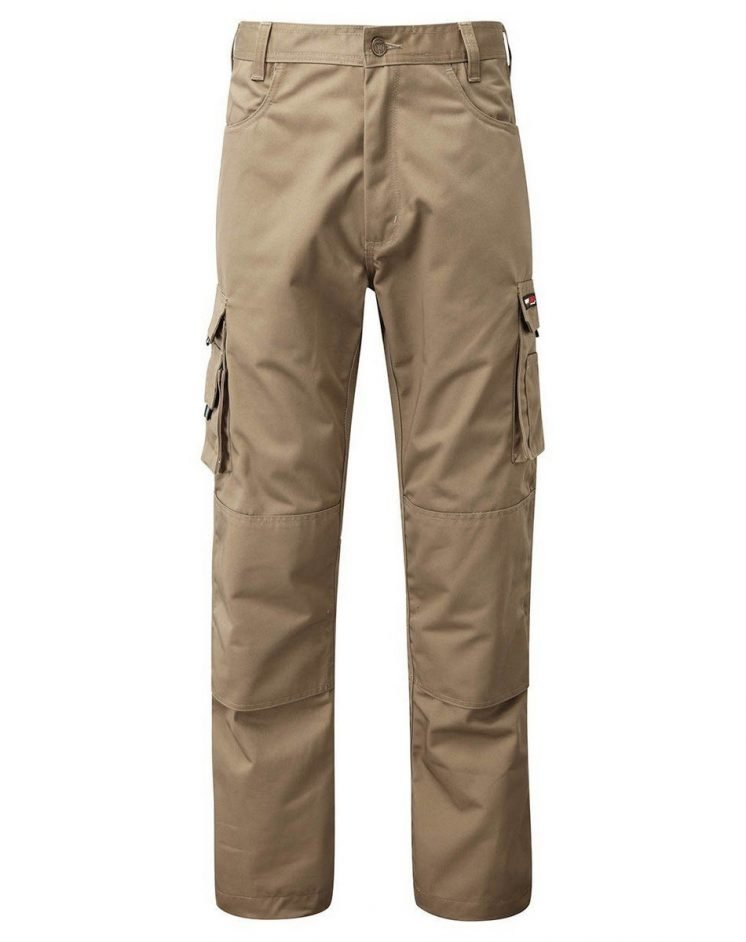 PPG Workwear TuffStuff Pro Work Trousers 711 Stone Colour