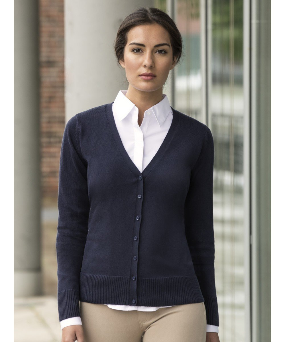 Russell Collection 710F Ladies V-Neck Sweater
