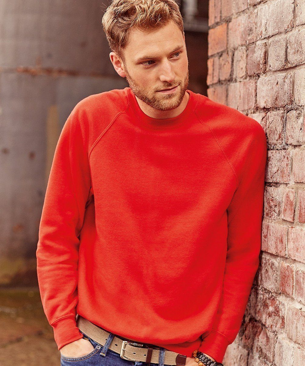 PPG Workwear Russell Classic Sweatshirt 7620M Classic Red Colour