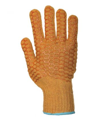 PPG Workwear Portwest Criss Cross Glove A130 Orange Colour Back View