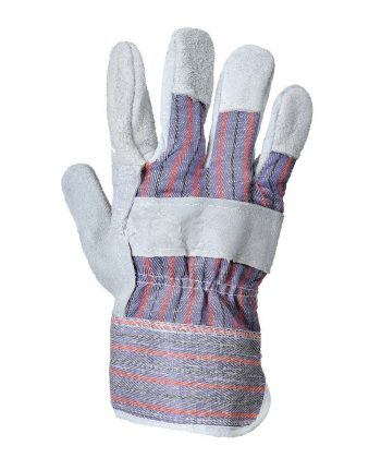 Portwest Canadian Rigger Glove A210 Grey Colour Back View