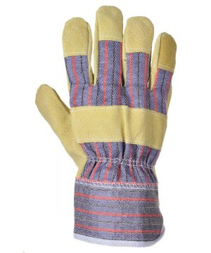 PPG Workwear Portwest Mansuetus Rigger Glove A240 Tan Colour Back View
