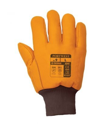 PPG Workwear Portwest Antarctica Insulatex Glove A245 Tan Colour Back View