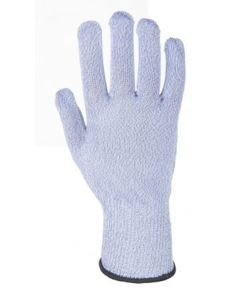 PPG Workwear Portwest Sabre-Lite Cut Level 5 Food Industry Glove A655 Blue Colour Back View