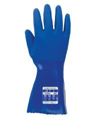 PPG Workwear Portwest Trawlmaster 30cm Guantlet A880 Blue Colour Back View