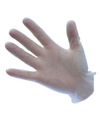 Portwest Powder Free Vinyl Disposable Gloves A905 Clear