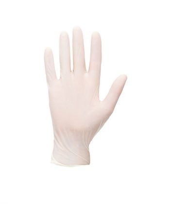 Portwest Powdered Latex Disposable Gloves White Colour