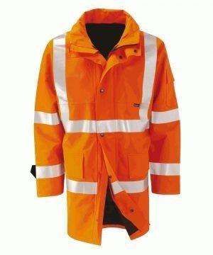 Orbit Gore-Tex Amazon Orange Colour Hi Vis Jacket GB2FWJR