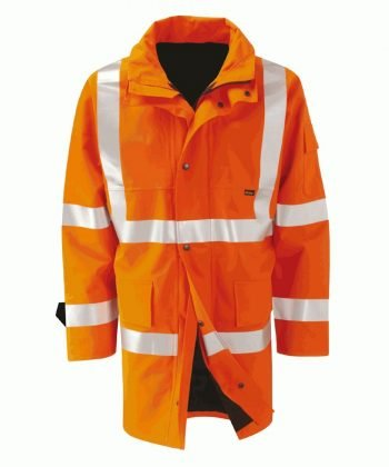 Orbit Gore-Tex Amazon Orange Colour Hi Vis Jacket GB2FWJR