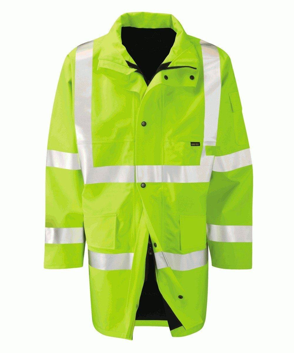 PPG Workwear Orbit Gore-Tex Amazon Yellow Colour Hi Vis Jacket GB2FWJ
