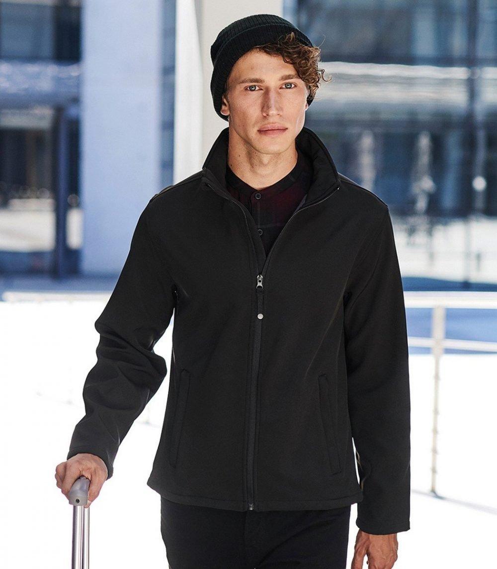 PPG Workwear Regatta Reid Softshell Jacket TRA654 Black Colour