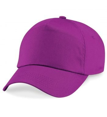 PPG Workwear Beechfield Original 5 Panel Cap B10 Magenta Colour